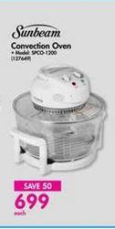Sunbeam Convection Oven offer at R 699