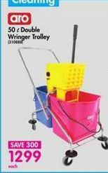 Aro Double Wringer Trolley offer at R 1299