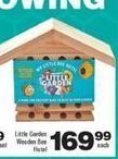 Little Garden Wooden Bee Hotel offer at R 169,99
