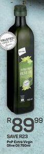 PnP Extra Virgin Olive Oil offer at R 89,99