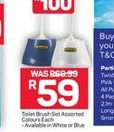 Toilet Brush Set offer at R 59