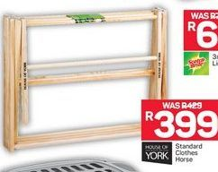 Standart Clother Horse offer at R 399