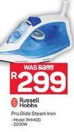 Russell Hobbs Pro Glide Steam Iron offer at R 299