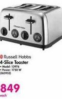 Russell Hobbs 4-Slice Toaster offer at R 849
