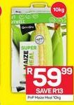 PnP Maize Meal offer at R 59,99