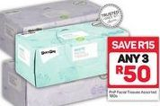 PnP Facial Tissues 3 offer at R 50