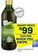 PnP Extra Virgin Olive Oil offer at R 99