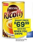 Nescafe Ricoffy offer at R 69,99