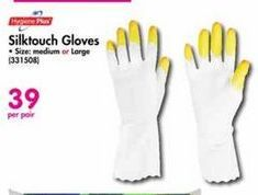 SilkTouch Gloves offer at R 39
