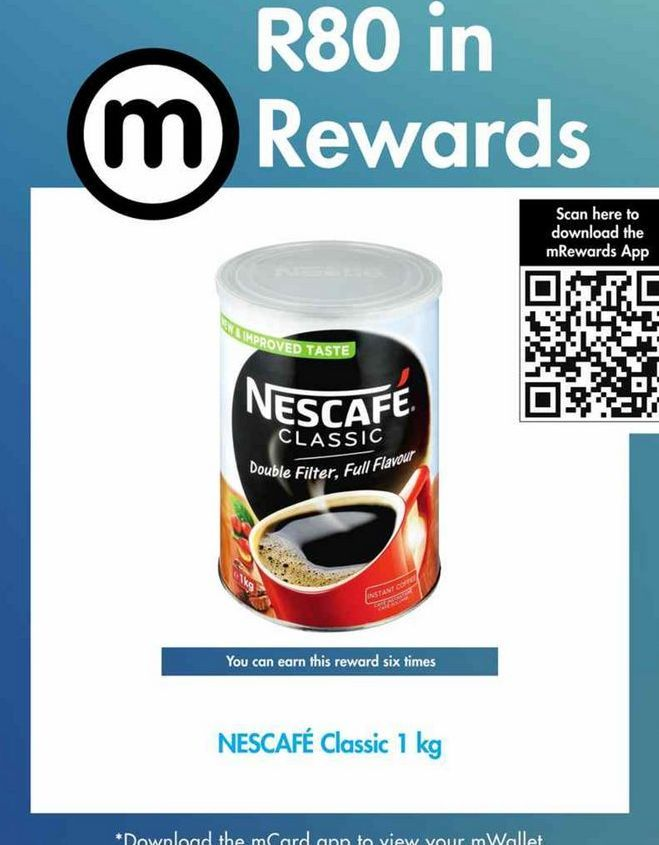 Nescafe Classic Instant Coffee offer at