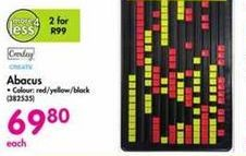 Croxley Abacus offer at R 69,8