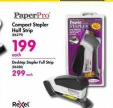PaperPro Compact Stapler Half Strip offer at R 199
