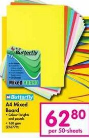 Butterfly A4 Mixed Board offer at R 62,8