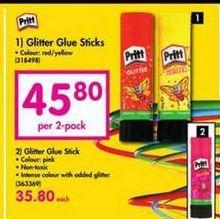 Pritt Glitter Glue Sticks offer at R 45,8