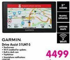 Garmin Drive Assist 51LMT-S offer at R 4499