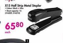 Rexel X15 Half Strip Metal Stapler offer at R 65,8