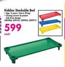 Kiddies Stackable Bed offer at R 599