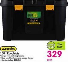Addis 150 l Roughtole offer at R 329