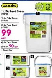Addis 10 l Food Storer offer at R 99