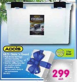 Addis 68.5 l Store 'n Guard offer at R 299