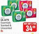 Lil-Lets Essentials Scented / Unscented 5 offer at R 34,99
