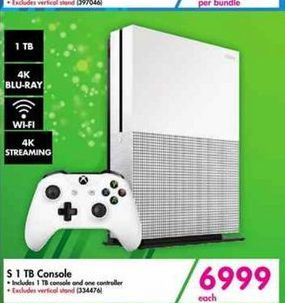 Xbox S 1 TB Console offer at R 6999
