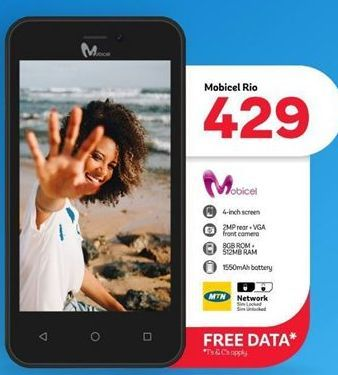 Mobicel RIO  offer at R 429