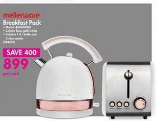 Mellerware Breakfast Pack offer at R 899