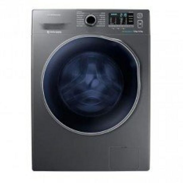 Samsung 7kg/5kg Metallic Washer Dryer - WD70J5410AX offer at R 9999,99