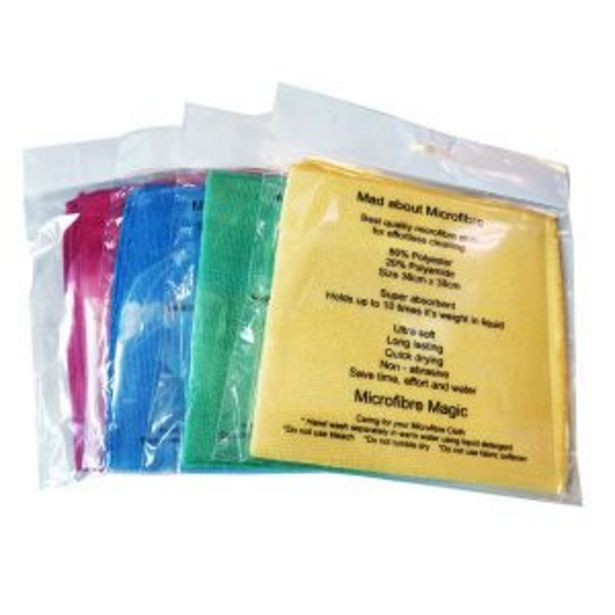Blue Microfiber Cloth offers at R 39,99