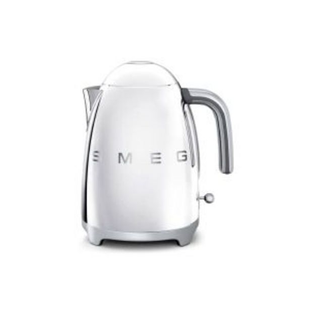 Smeg Chrome 1.7L Retro Kettle - KLF03SSSA offer at R 2499,99