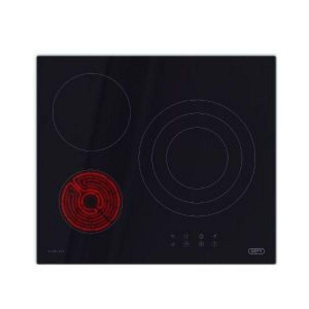 Defy 60cm Slimline Touch Control Electric Vitroceramic Hob - DHD601 offer at R 3999,99