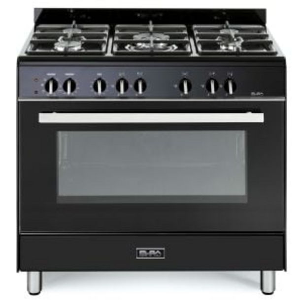 Elba 90cm Black Gas/Electric Stove - 9CX827BN offers at R 12999,99