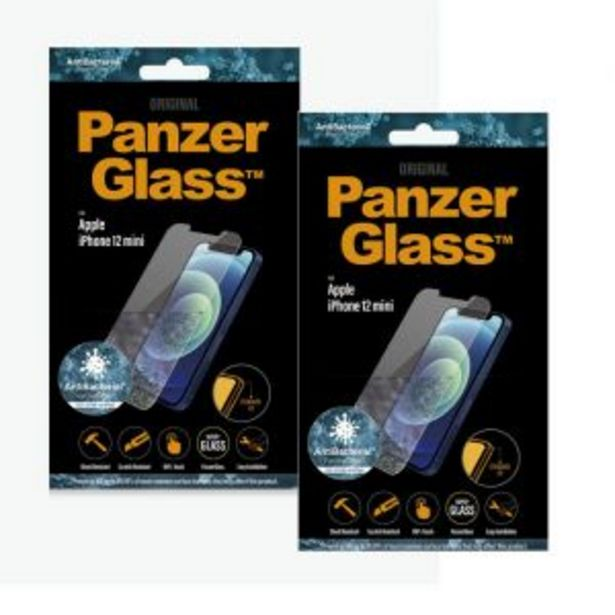 PanzerGlass iPhone 12 Mini Anti-Bacterial Protection Bundle offers at R 579,99