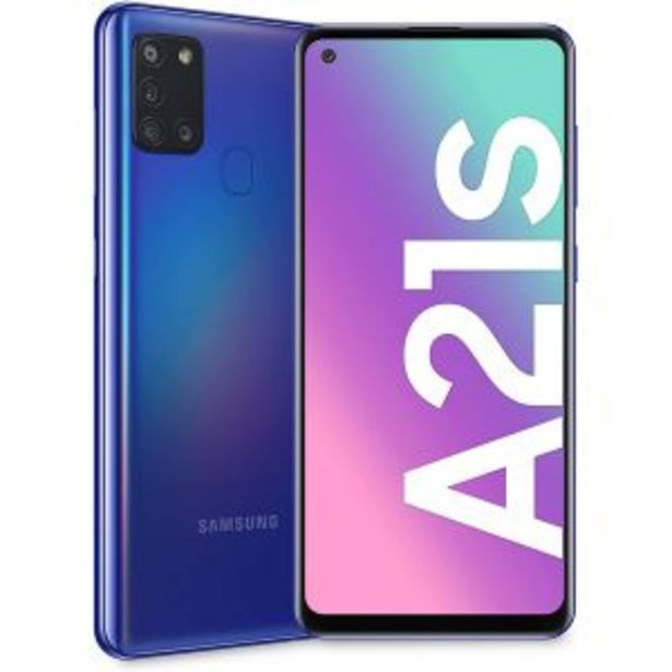 Samsung Galaxy A21s Blue offers at R 3999,99