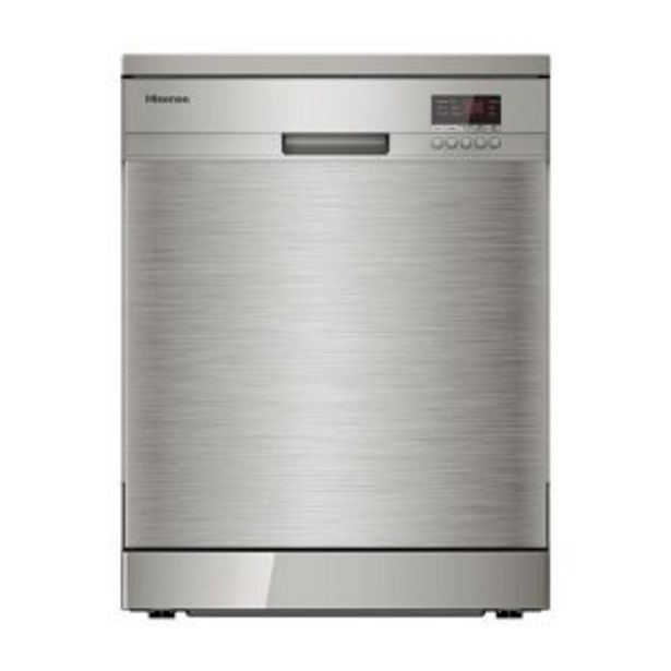 Hisense 13Pl Stainless Steel Dishwasher - H13DESS offer at R 4759,99