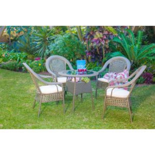 Jost Garden Table with 4 Chairs - A649 offers at R 7299,99