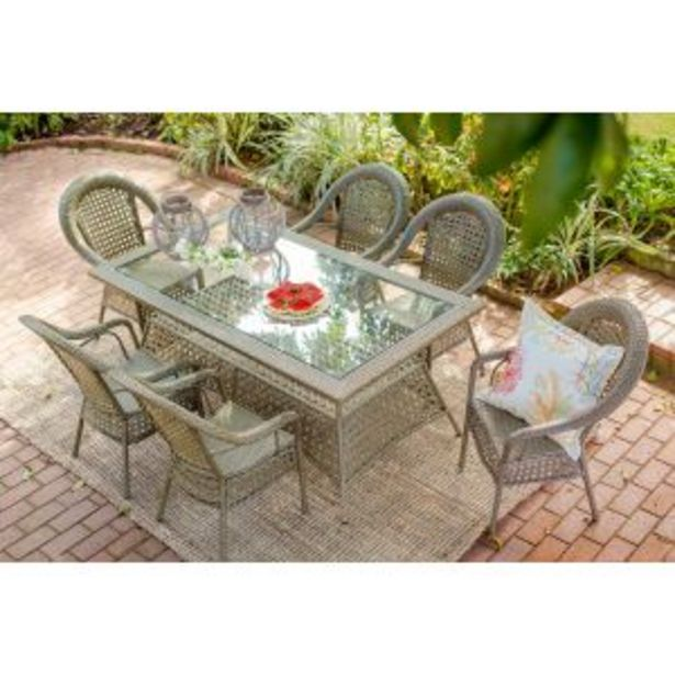 Jost 6 seater Garden Table (1.8m) - A649-2 offers at R 12199,99