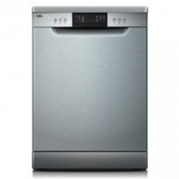 AEG 14Pl Stainless Steel Dishwasher - FFB7220CZM offer at R 6299,99