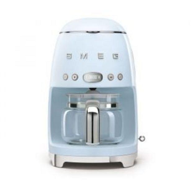 Smeg Retro Pastel Blue Drip Filter Coffee Machine - DCF02PBSA offers at R 3699,99
