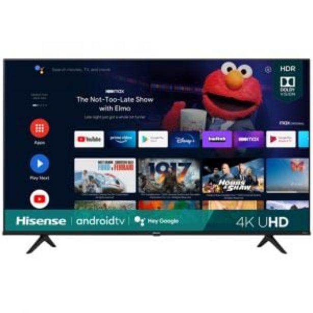 "Hisense 165cm (65"") UHD Smart TV - 65A6G offers at R 13799,99"