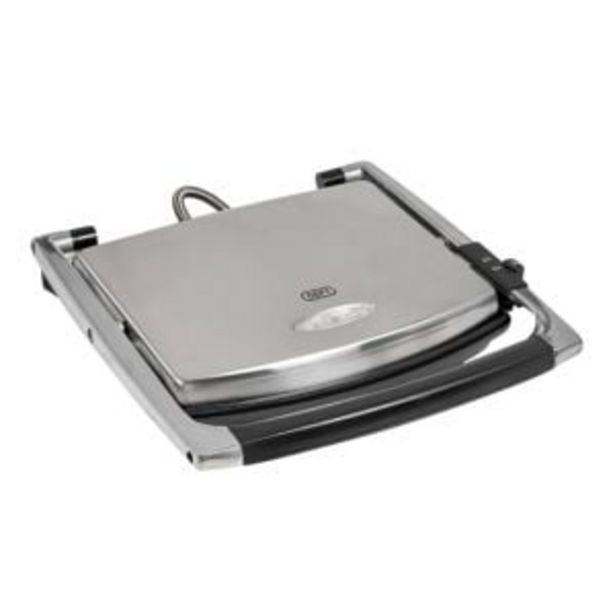 Defy 2000W 4 Slice Panini Press - SP8031SS offers at R 949,99
