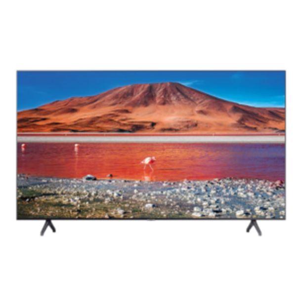 "Samsung 109cm (43"") Smart UHD TV - UA43TU7000KXXA offer at R 6499,99"