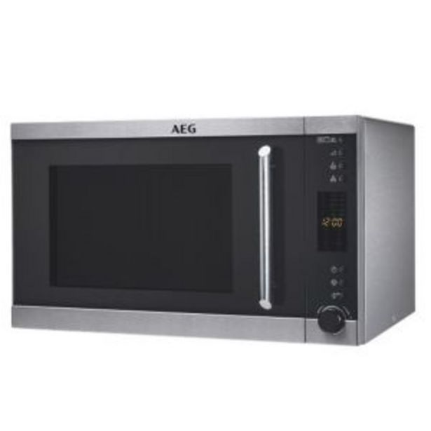 AEG 30L Microwave with Grill - MFG3026S-M offers at R 2399,99