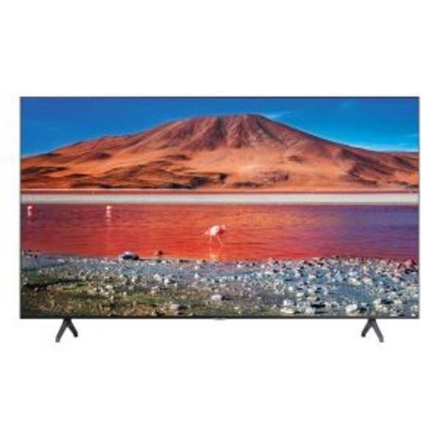 "Samsung 178cm (70"") Smart UHD TV - UA70TU7000KXXA offer at R 15999,99"