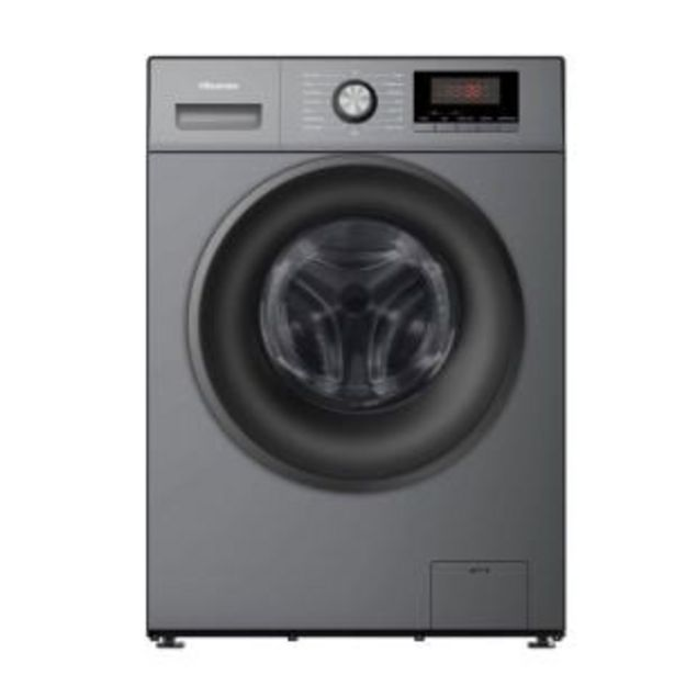 Hisense 9kg Titanium Grey Washing Machine - WFPV9012MT offer at R 6544,99