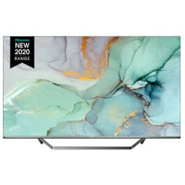 """Hisense 139cm(55"""") 4K ULED TV – 55U7QF offer at R 11999,99"""