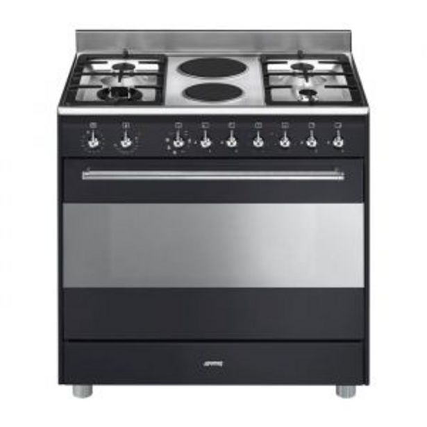 Smeg 90cm Anthracite Gas/Electric Stove - SSA92MAA9 offers at R 19999,99