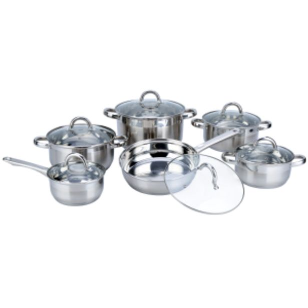 Snappy Chef 12pc Supreme Cookware Set - SSCS012 offers at R 2299,99
