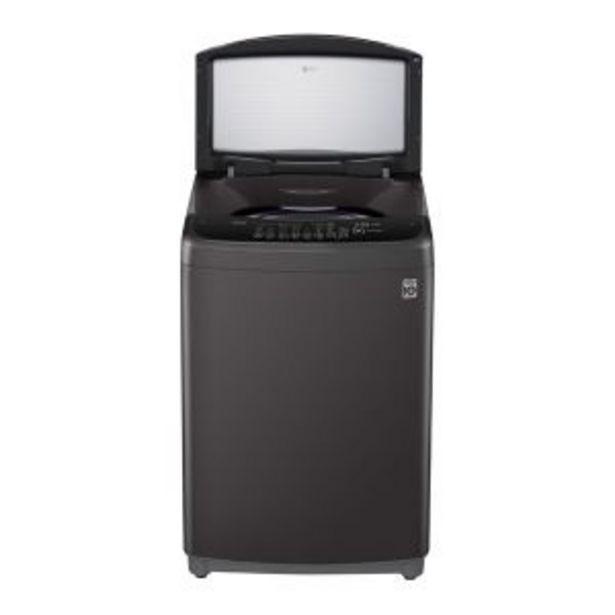 LG 18kg Middle Black Top Loader Washing Machine - T1866NEHT2 offer at R 9774,99